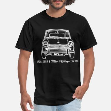 Mini Cooper Mini cooper Mens Womens number small car - Men's T-Shirt