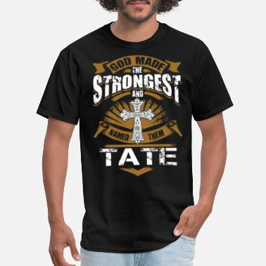 Anti Jesus god made the strongest and tate jesus hipster - Men's T-Shirt