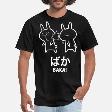 Japanese Rabbit baka anime rabbit slap anime japanese - Men's T-Shirt