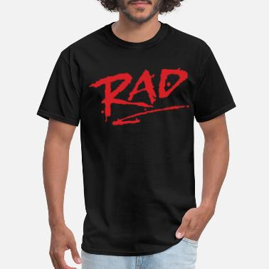 Bmx RAD 1980s classic BMX movie COOL RETRO Cru Jones B - Men's T-Shirt