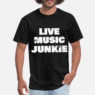 live music guitar t shirts - Men's T-Shirt