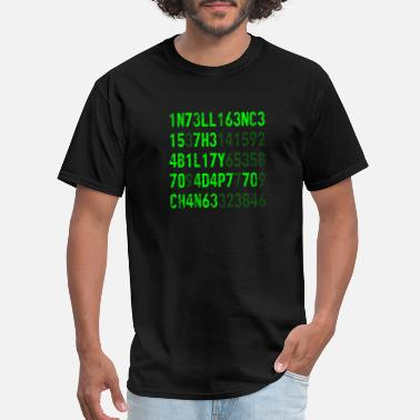 Change Intelligence Is The Ability To Adapt To Change - Men's T-Shirt