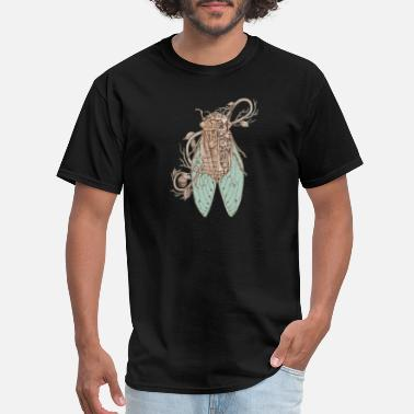 anatomy of cicada - Men's T-Shirt