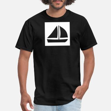 North Sails Sail Boat with two sails - Men's T-Shirt