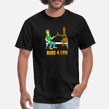 Bed Man Buds 4 liyfe - Men's T-Shirt