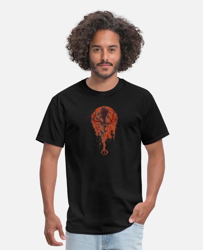 Game T-Shirts - bloodborne souls - Men's T-Shirt black