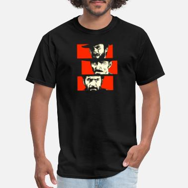Cult Film Blondie, Angel Eyes, Tuco - Men's T-Shirt