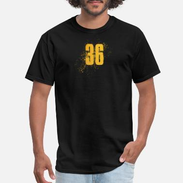 Number 36 Number 36 Art - Men's T-Shirt