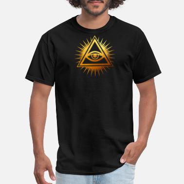 All Seeing Eye The All Seeing Eye / The Eye Of Providence - Men's T-Shirt