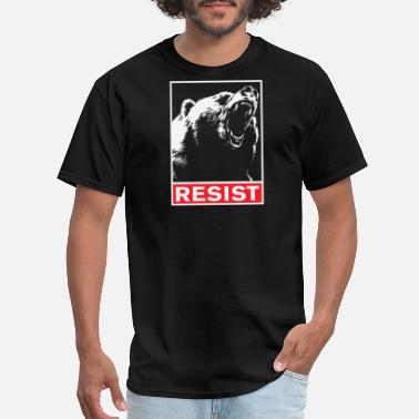 Womens Resistance Resist - resist - Men's T-Shirt