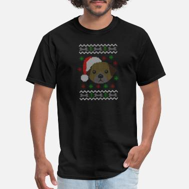 Ugly Dogs Christmas dog ugly christmas sweaters - Men's T-Shirt