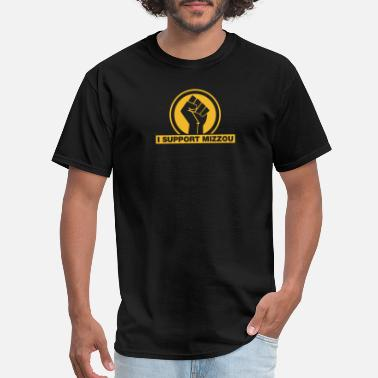 Blacklivesmatter I SUPPORT MIZZOU BLACKLIVESMATTER - Men's T-Shirt