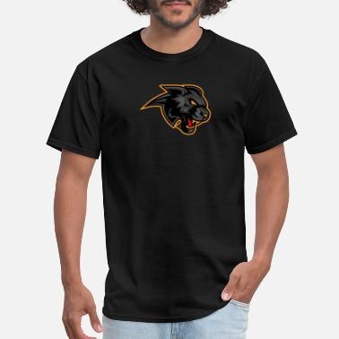 Black Panther Panther logo - Men's T-Shirt