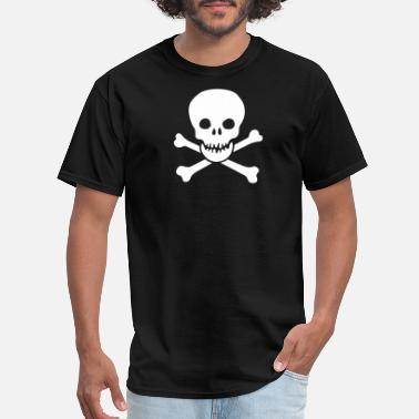 Grin skull - Men's T-Shirt