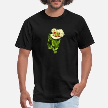 Opium Opium poppy 3 (detailed) - Men's T-Shirt