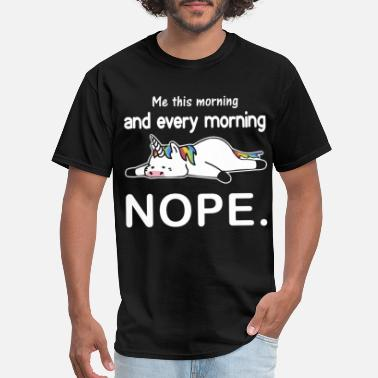 Too Big For Sleeves me this morning and every morning dope - Men's T-Shirt