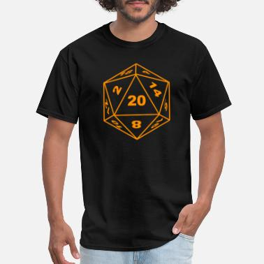 e94e65702 D20 D20 Pen and Paper RPG Dungeons Dice roleplaying - Men's T