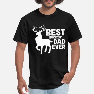 best buckin dad ever dad - Men's T-Shirt