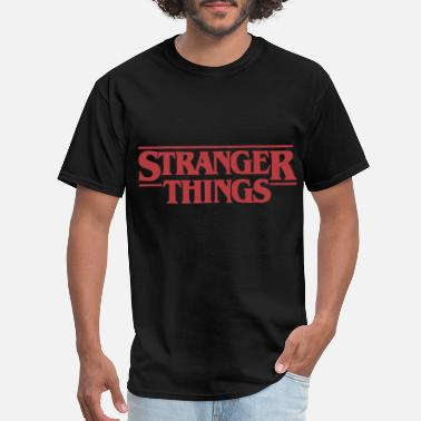 Stranger Things Netflix Stranger Things Logo son Tshirt - Men's T-Shirt