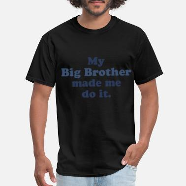 Basic Bro my big brother made me it basic jersey toddler bro - Men's T-Shirt