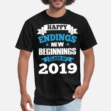 2019 Graduation Senior T-Shirts - Class of 2019 Shirts - Men's T-Shirt