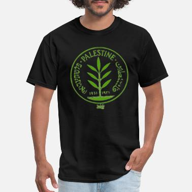 Lebanese Palestine Coin - Men's T-Shirt