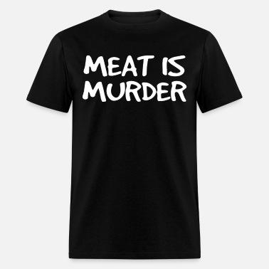 MENS VEST TANK VEGAN MEAT IS MURDER CRUELTY FREE ARMY VEGETARIAN  S-5XL