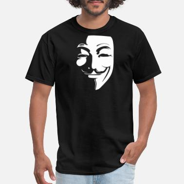 Anonymous Guy Fawkes Mask Guy Fawkes Anonymous Mask 2018 - Men's T-Shirt