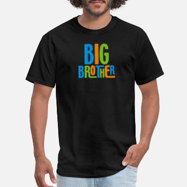 Big Brother Geek Big Brother - Men's T-Shirt