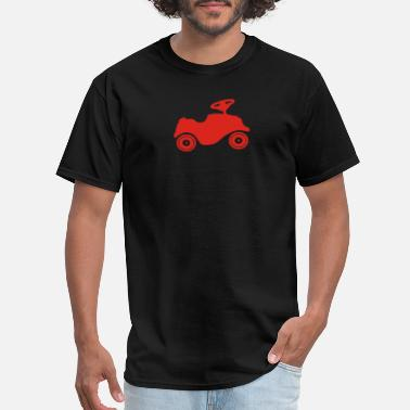 Kids Caribbean Toy Car Silhouette funny tshirt - Men's T-Shirt