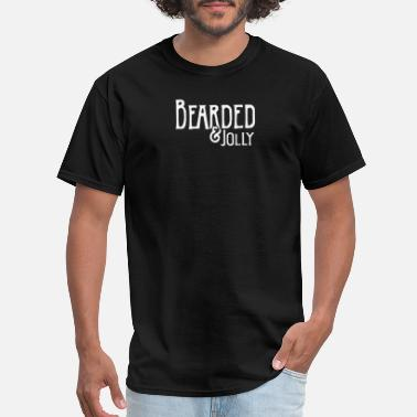 Bearded and Jolly - Men's T-Shirt