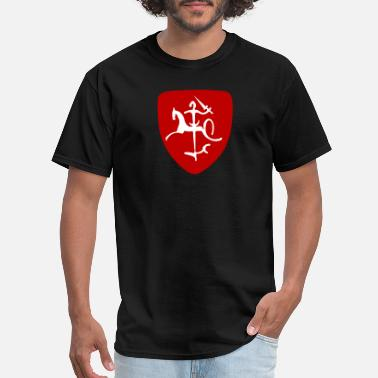 Lithuanian Vytis REDnWHT - Men's T-Shirt