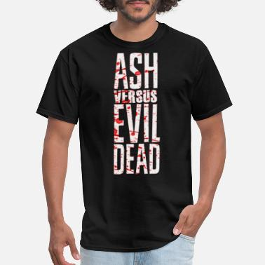 Evil Ash vs evil dead - Men's T-Shirt