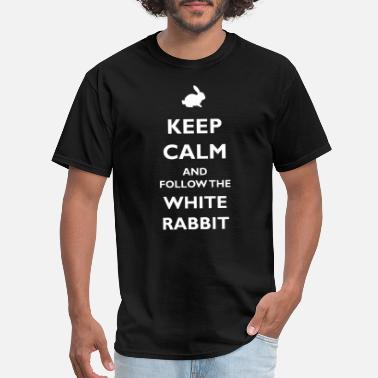 Hole White Rabbit - Men's T-Shirt