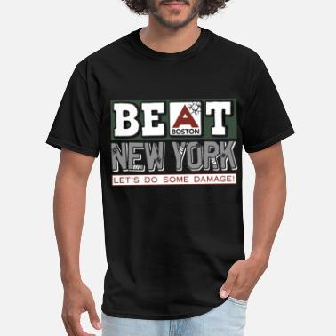 Harp Boston beat boston newyork let s do some damage boston - Men's T-Shirt