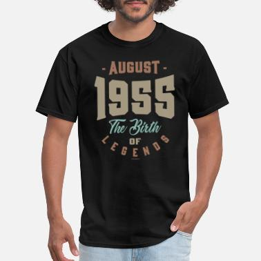 August 1955 August 1955 The Birth Of Legends - Men's T-Shirt