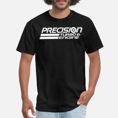 Precision Precision Turbo And Engine Black White Hoodie New - Men's T-Shirt