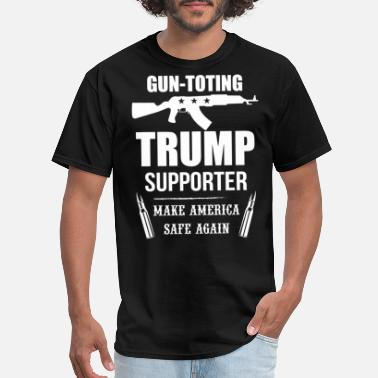 Trump Sucks Dick Donald Trump President Pro Guns 2nd Amendment Grea - Men's T-Shirt