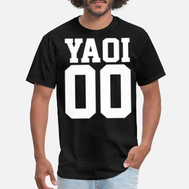 Fake Supreme Yaoi Jersey Style Anime BL japanese - Men's T-Shirt