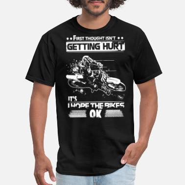 Bandidos Motorcycle Club Mc first throught isn t getting hurt it s i hope the - Men's T-Shirt