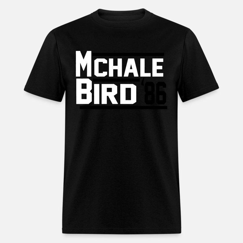 size 40 bab04 09d1a Kevin McHale Larry Bird Boston Celtics Jersey or L Men's T-Shirt - grey tie  dye