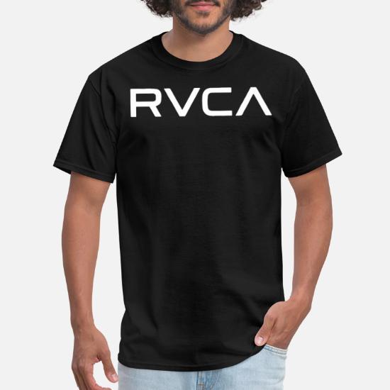 RVCA Big RVCA Short Sleeve Tee Grey Noise Men s Gr Men's T