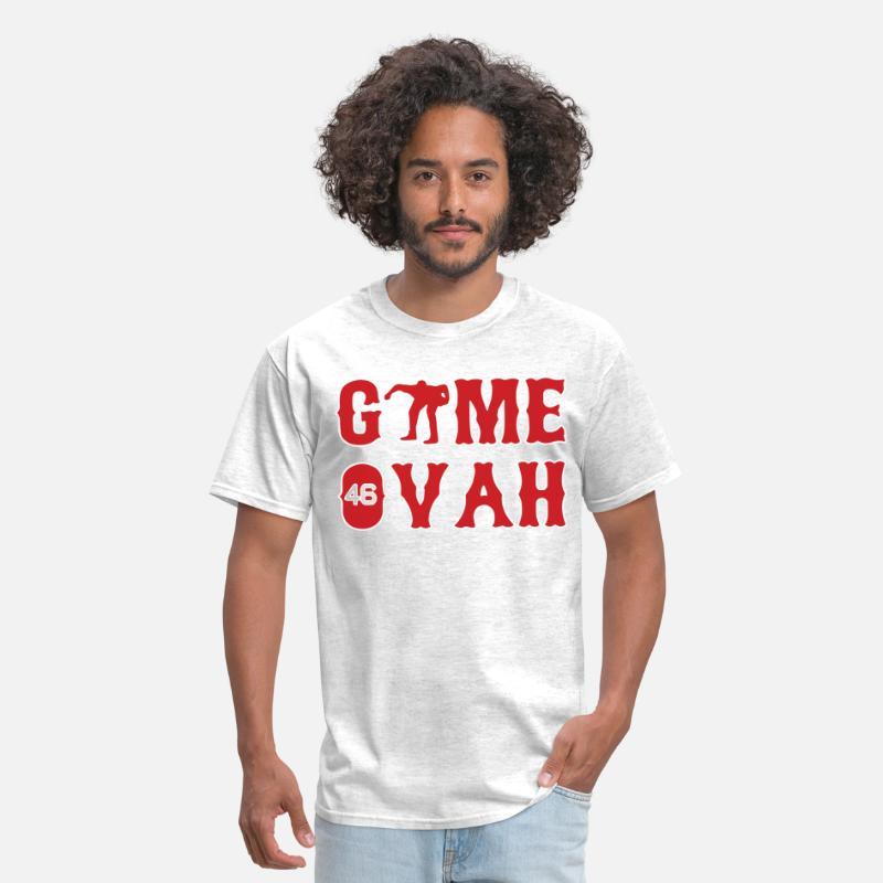 newest 683f1 a1420 Craig Kimbrel Boston Game Ovah Jersey Long Sleeve Men's T-Shirt - light  heather grey