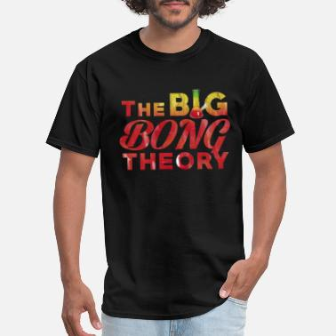 Bong Graphics The BIG BONG THEORY - Men's T-Shirt
