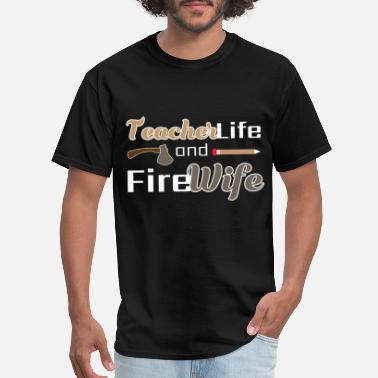 Firefighter Danger Firefighter - Men's T-Shirt