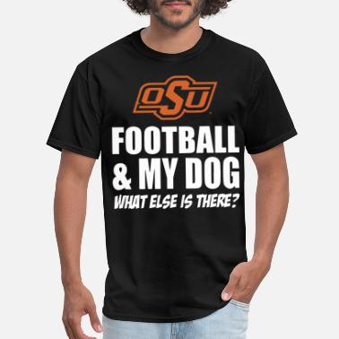 Oklahoma State Cowboys Football Dog football - Men's T-Shirt
