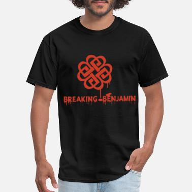 Benjamin breaking benjamin band women and men lover tour ta - Men's T-Shirt