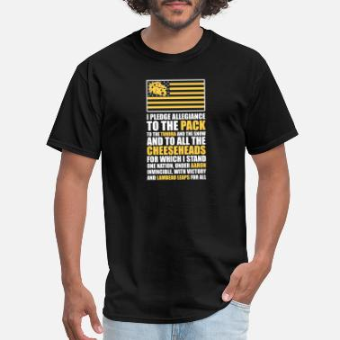 Mayor Mccheese Cheese - I pledge allegiance to the pack - Men's T-Shirt