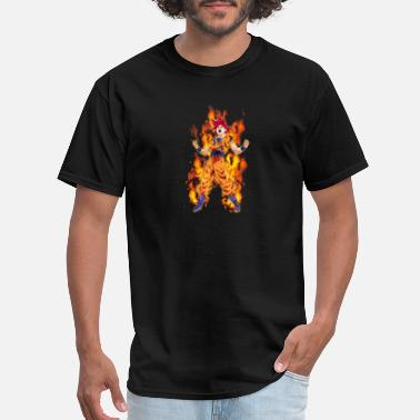 Kids Dragon Ball Goku Super Saiyan God - Men's T-Shirt