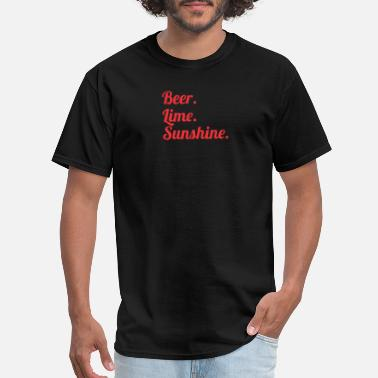 Beer Lime And Sunshine Beer Lime Sunshine 2 - Men's T-Shirt